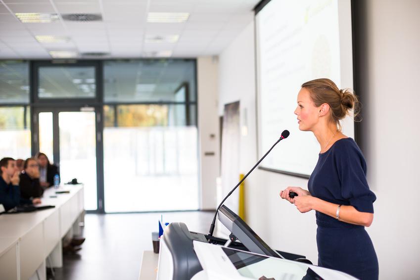 Präsentation im Rahmen des Jobs