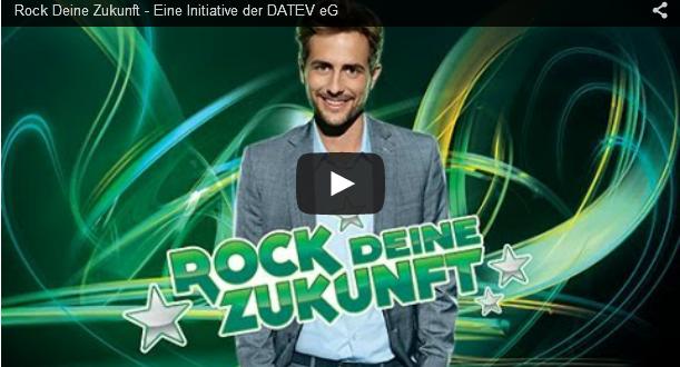 """Thumbnail des Videos """"Rock Deine Zukunft"""" - Eine Initiative der DATEV eG"""