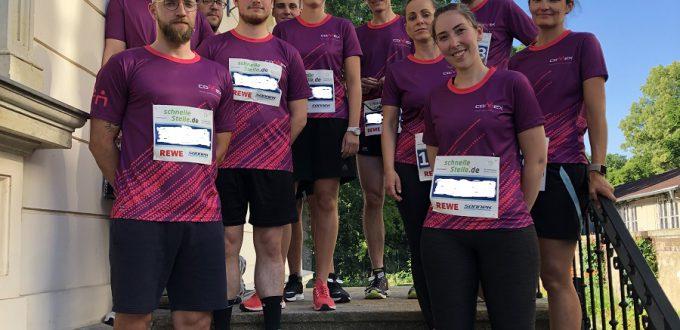 Firmenlauf Leipzig 2019 - Läuferinnen und Läufer der Connex