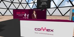 Virtueller Connex-Messestand